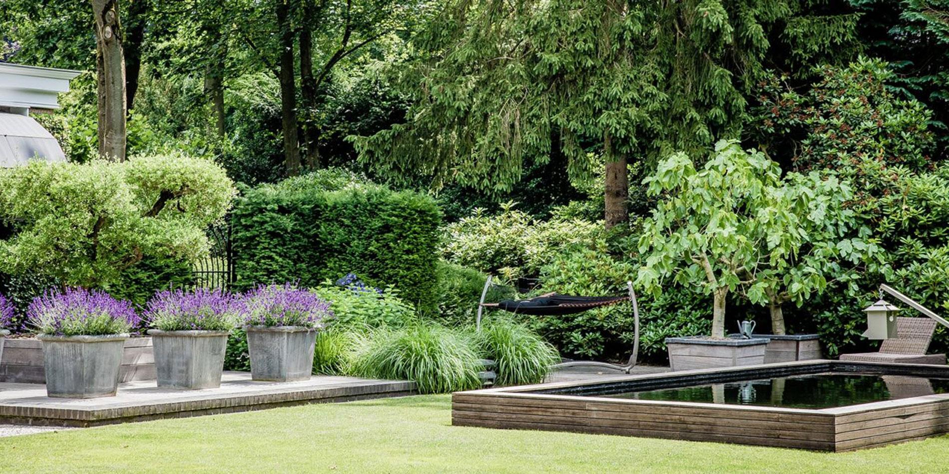 Landelijke tuin in laren