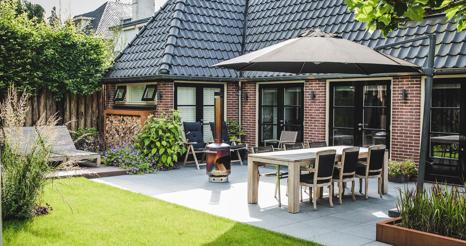 Moderne tuin in Hilversum